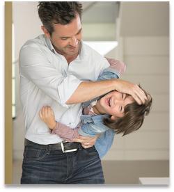 Bild Vater und Kind